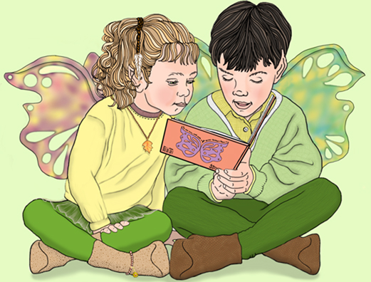 Lisa J. Michaels:Reading Fairies